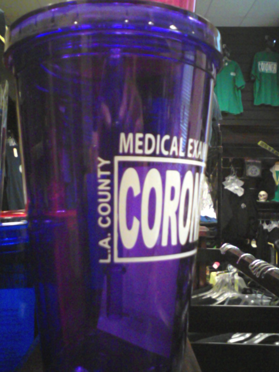 L.A. County Medical Examiner-Coroner Block Tumbler-1