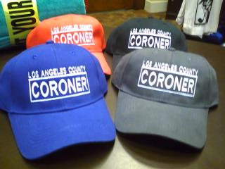 L.A. County Coroner Ball Cap